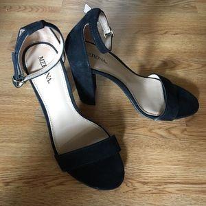 Merona Shoes - Suede Block Heels